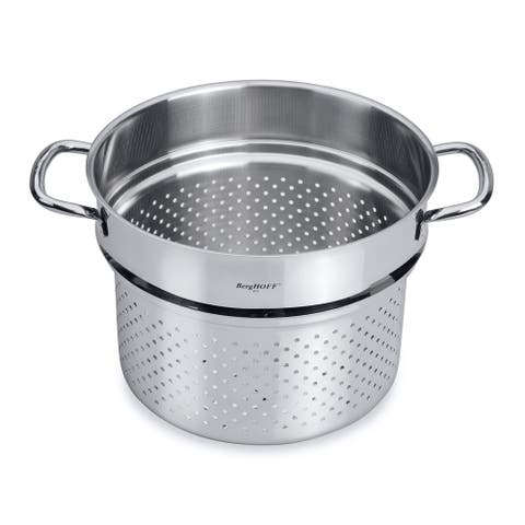 "CollectNCook 9.5"" 18/10 Stainless Steel Pasta Insert"