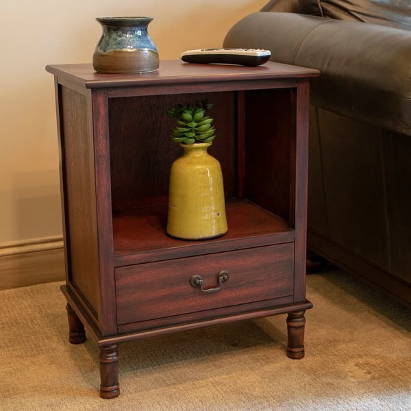 Williamson Wood Finish Side Table