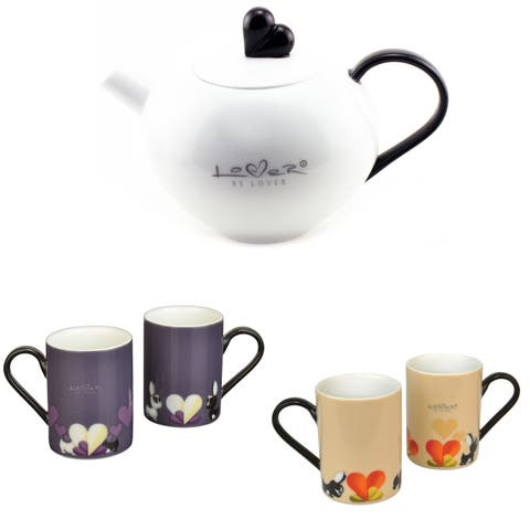 Lover By Lover 5pc Tea Set