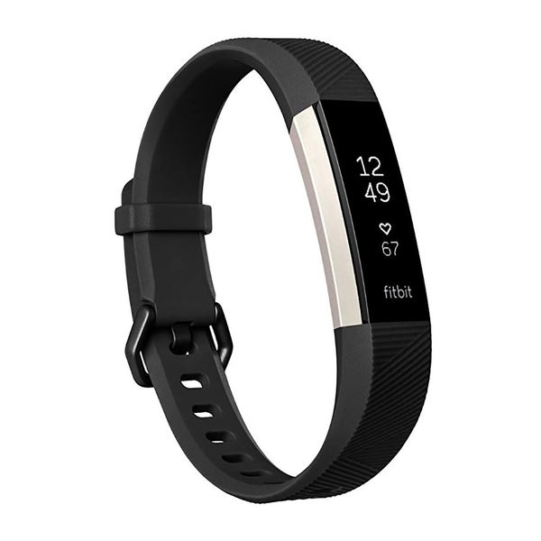 Fitbit Alta HR Fitness Tracker & Heart Rate Monitor Black Large