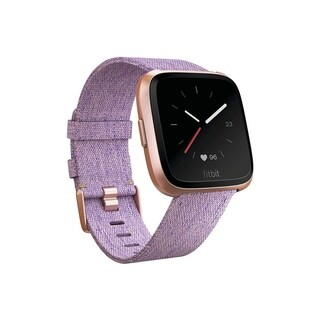 Fitbit Versa Smartwatch Lavender Woven/ Rose Gold Special Edition - N/A - N/A
