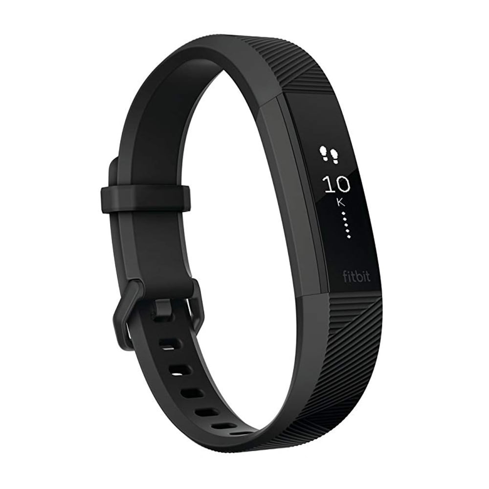 Fitbit Alta HR Fitness Tracker & Heart Rate Monitor Special Edition Black/  Gunmetal Small - N/A