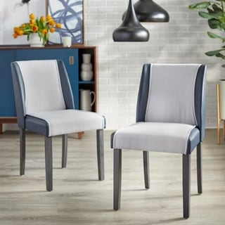 Link to angelo:HOME Grayson Dining Chair (Set of 2) Similar Items in Kitchen & Dining Room Chairs
