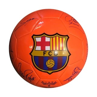 Icon Sports FC Barcleona (FCB) Signature Official Size 5 Regulation Soccer Ball