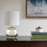510 Design Saxony Silver Table Lamp