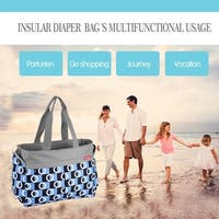 Insular Multifunctional Waterproof Baby Diaper Bag For Mother Maternity Bag