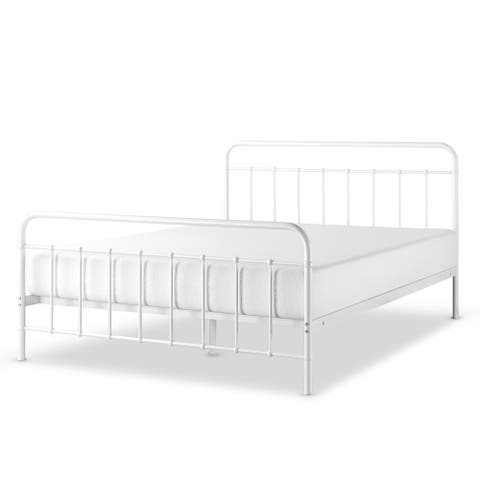 Priage by Zinus Florence Metal Platform Bed Frame, Mattress Foundation, No Box Spring Needed