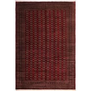 Arshs Fine Rugs Bokhara Denebola Handmade Red Wool Rug - 10'4 x 13'10