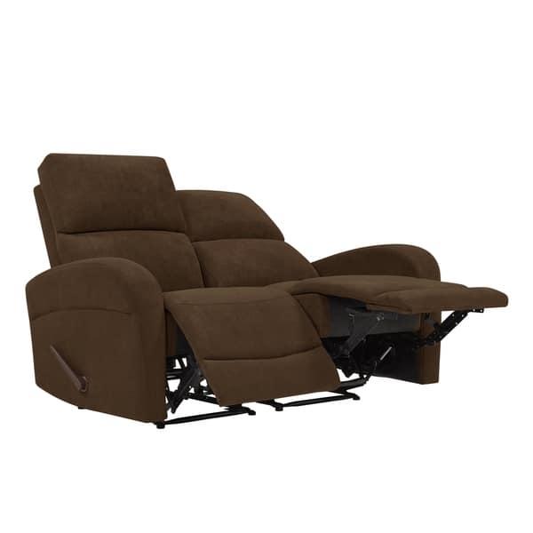 Astounding Shop Copper Grove Herentals Brown Chenille 2 Seat Recliner Ibusinesslaw Wood Chair Design Ideas Ibusinesslaworg