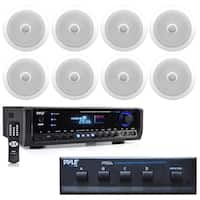 "8""Speaker Sys,Tweeter(8),2Way Home Theater Bluetooth Receiver,(2)Mic"