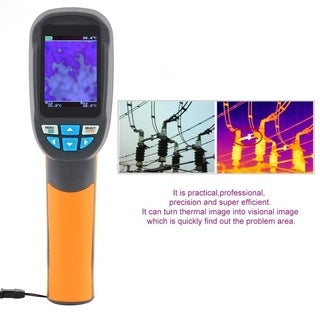 Handheld Infrared Thermometer Imaging Camera Protable Thermal Color Screen