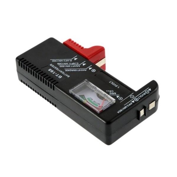 BT-168 Universal AA//AAA C D 9V Button Cell Battery Meter Volt Tester Checker