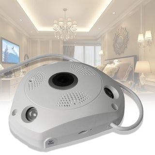 HA-WY05 960P Network 3D Panoramic VR Camera for DVR Security CCTV System - WHITE