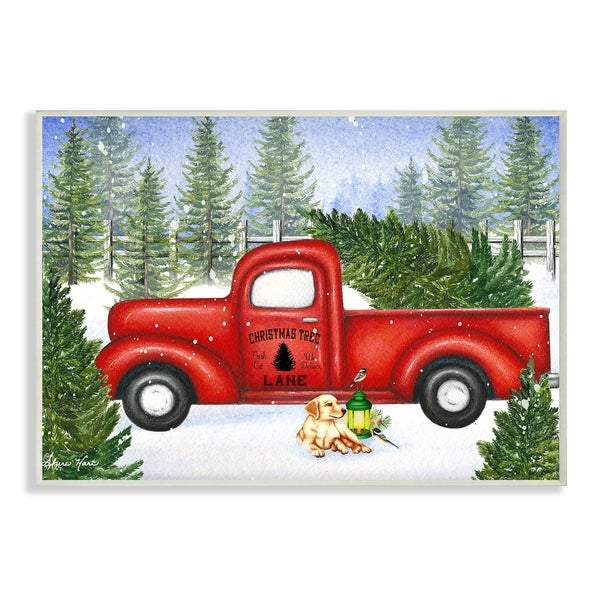 Free Christmas Tree Pick Up: Shop The Stupell Home Décor Collection Christmas Tree Lane