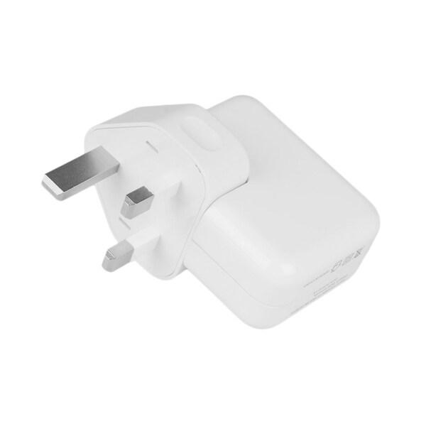 Mini Portable 1080P HD WIFI USB Wall Charger Monitor Camera Power Adapter - WHITE - uk plug