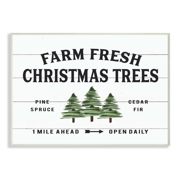 Christmas Tree Farm Southern California: Shop The Stupell Home Décor Collection Holiday Farm Fresh