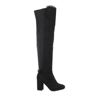 YOKI-GAMILLA Women's Over the knee Boots