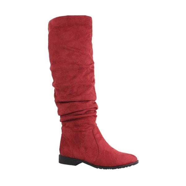 12cfb293db Shop YOKI-ANORA-40 Women's Knee high Boots - Free Shipping On Orders Over  $45 - Overstock - 23129859