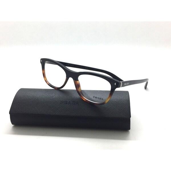 ca8ca0db5536 Prada VPR 05R TKA-1O1 Black  Tortoise Authentic Eyeglases 51mm 17mm 140mm