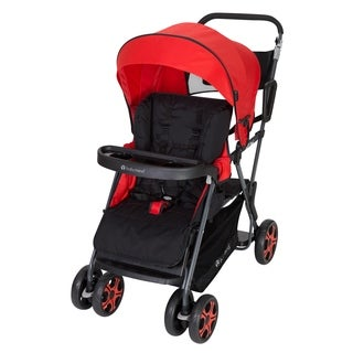 Shop Costway Folding Baby Sit And Stand Ultra Tandem