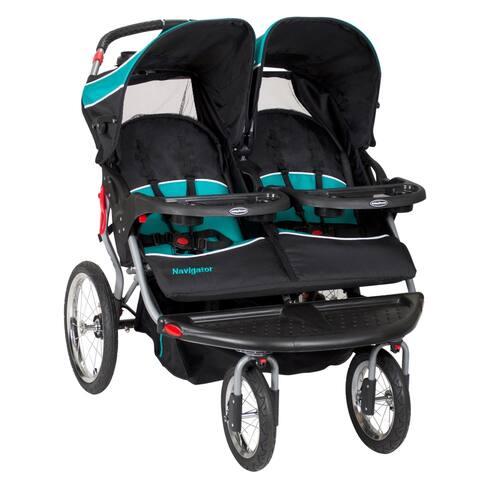 Baby Trend Navigator Double Jogger.Tropic