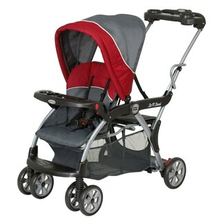 Baby Trend Sit n Stand DX Double Stroller, Baltic
