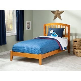 Richmond Twin Traditional Bed in Caramel