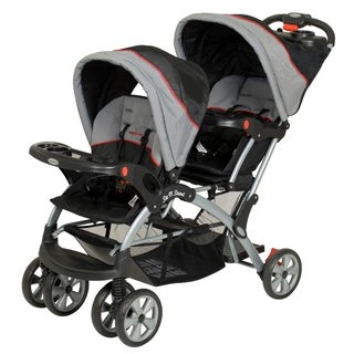 Baby Trend Sit n Stand Double Stroller,Millennium
