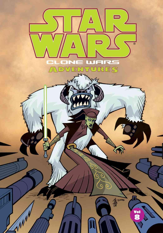 Star Wars Clone Wars Adventures 8 (Paperback)