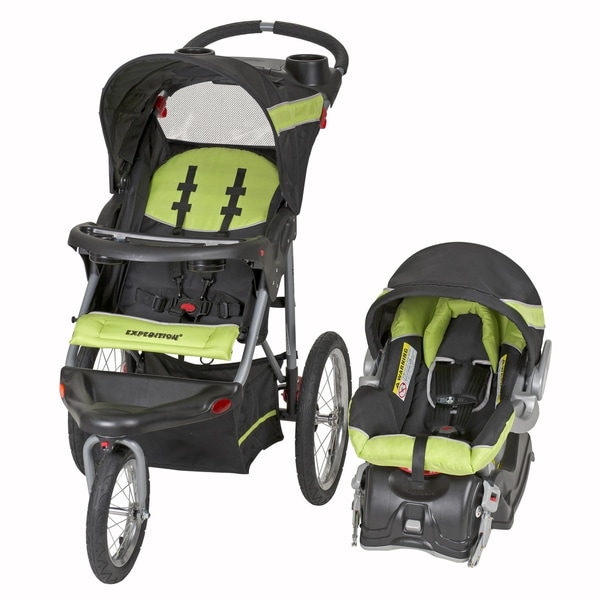 Shop Baby Trend Expedition Jogger Travel System,Electirc ...