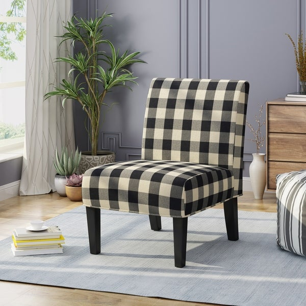Shop Kassi Traditional Upholstered Farmhouse Accent Chair