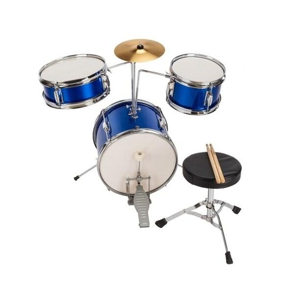 Shop 13 Inch 3 Pieces Junior Junior Starter Drum Set Kids Drum Kit