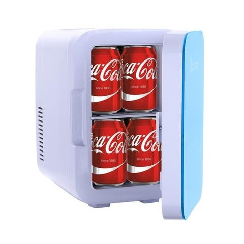 ZOKOP 6L/26L Electric Mini Portable Fridge Cooler AC/DC Portable Thermoelectric System 2Colors