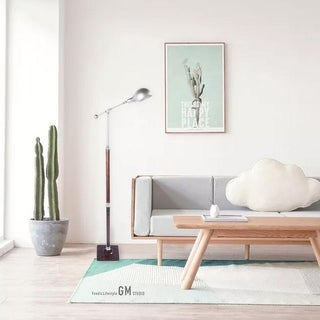 "63"" Retro Style Iron Adjustable Bedroom Living Room Floor Lamp"