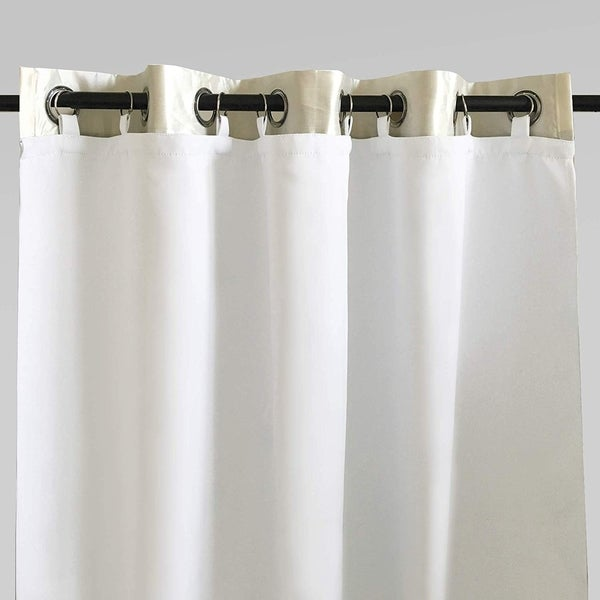 DriftAway Thermal Insulated 100% Blackout Curtain Liner for Grommet Curtains. Opens flyout.