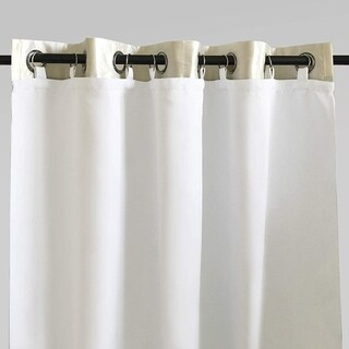 DriftAway Thermal Insulated 100% Blackout Curtain Liner for Grommet Curtains