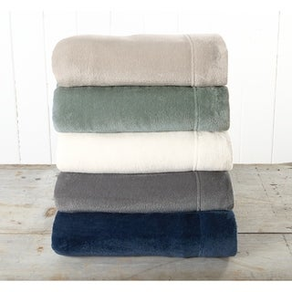 Great Bay Home Extra Soft Cozy Velvet Plush Solid Sheet Set