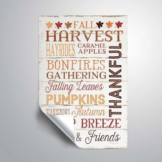 ArtWall Fall Harvest Removable Wall Art Mural