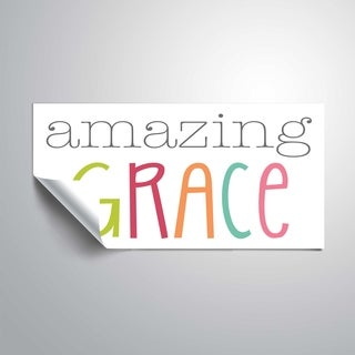 ArtWall Amazing Grace - colorful Removable Wall Art Mural