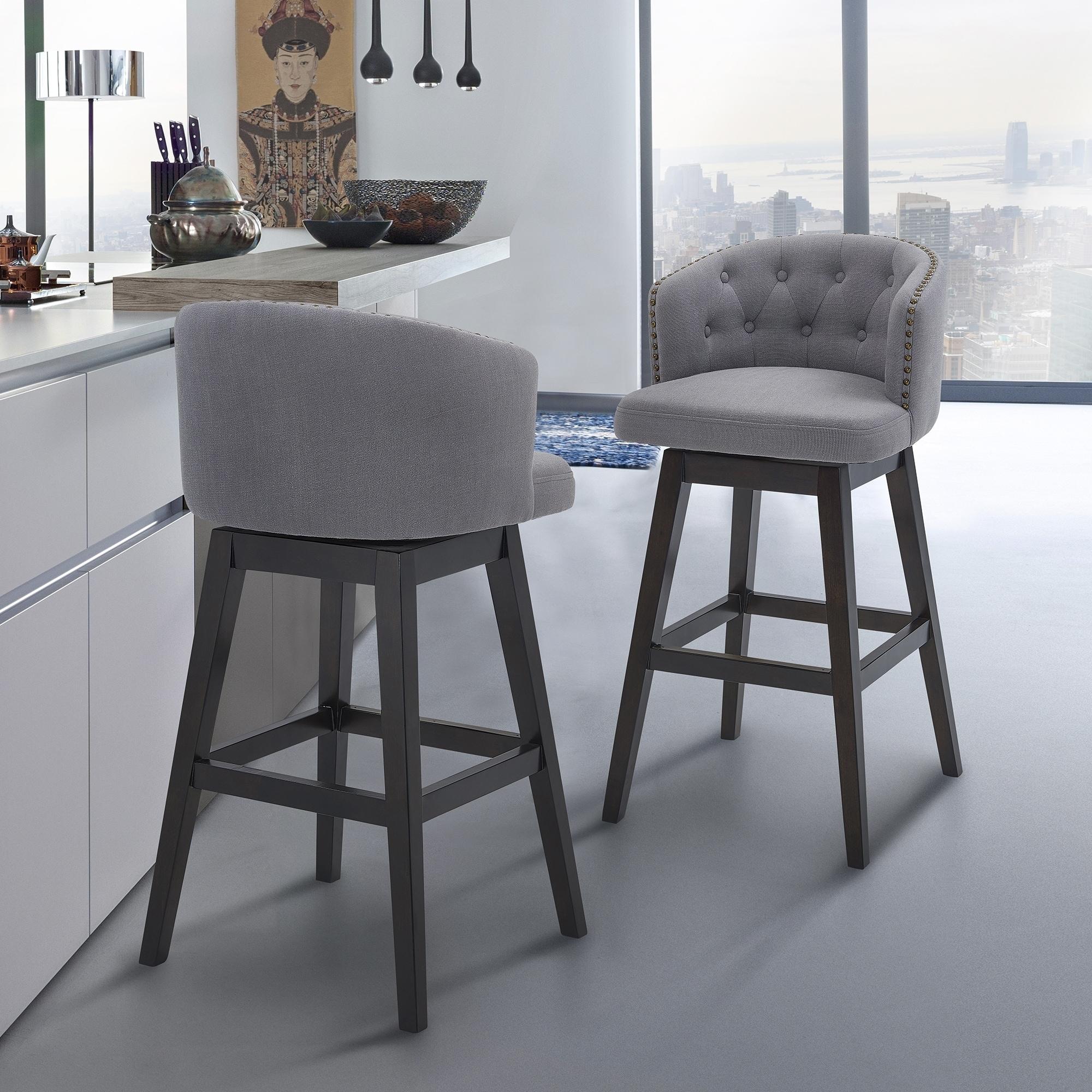 Fine Gracewood Hollow Maraire Wood Swivel Barstool Alphanode Cool Chair Designs And Ideas Alphanodeonline