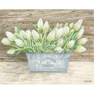 Decorative Wall Sign- Flowers & Garden Tulips