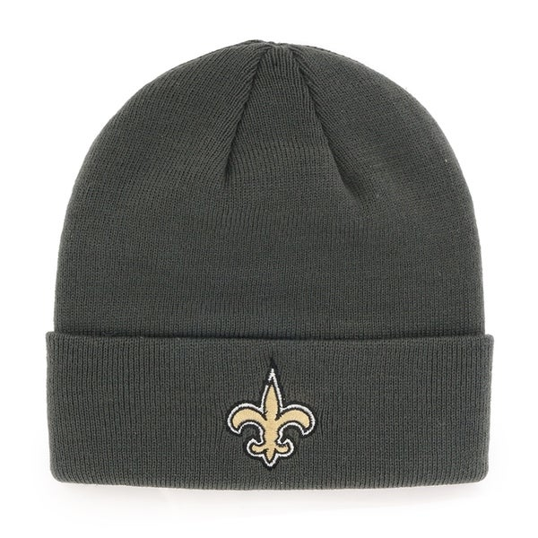 Shop NFL New Orleans Saints Cuff Knit Beanie - Free Shipping On Orders Over   45 - Overstock - 23134360 cbf494b25
