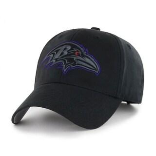 NFL Baltimore Ravens Black Classic Adjustable Hat