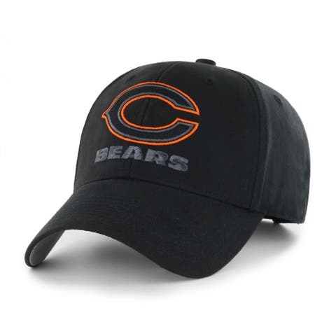 NFL Chicago Bears Black Classic Adjustable Hat