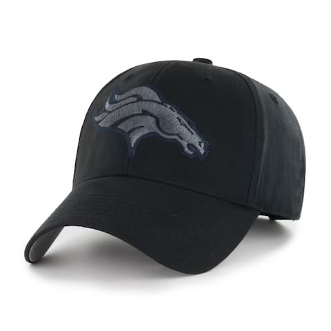 NFL Denver Broncos Black Classic Adjustable Hat