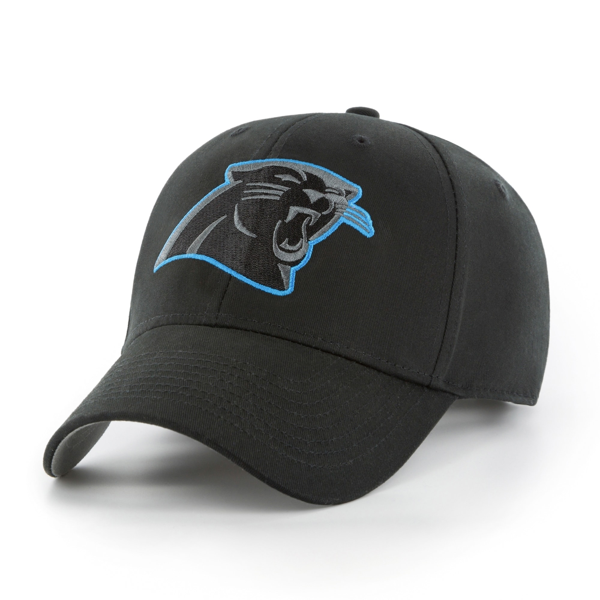 timeless design 16ed4 1ed8e ... sale details about nfl carolina panthers black classic adjustable hat  55bf8 6cae0