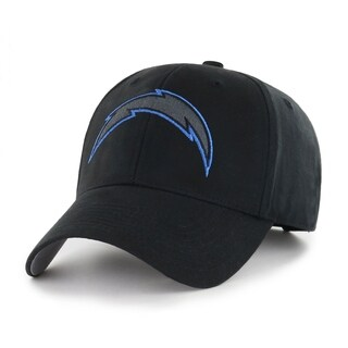 NFL Los Angeles Chargers Black Classic Adjustable Hat