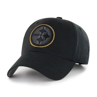 NFL Pittsburgh Steelers Black Classic Adjustable Hat