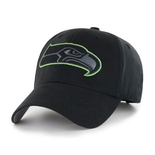 NFL Seattle Seahawks Black Classic Adjustable Hat