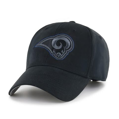 NFL Los Angeles Rams Black Classic Adjustable Hat